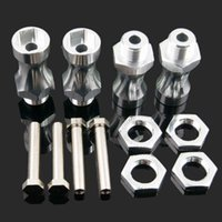 Wholesale RC Truck Alum Silver Wheel Hex Driver mm Turn mm Hex Adapter mm Extension