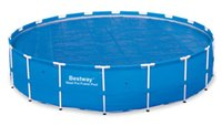 Wholesale micron Solar cover Bestway Round Above Ground Swimming Pool Solar Heat Cover