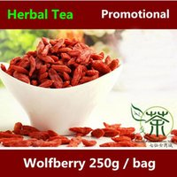Wholesale 250G dried goji berry spring original in China pure berries wolfberry g lycium barbarum