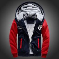 Wholesale Fashion Jacket Men Brand Winter Casual Slim Men s Hooded Jackets Patchwork Mens Coats Plus Size Tracksuits