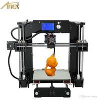 Cheap Hot Sale 3d-Printer diy Anet A6 Easy assembly Precision Reprap Prusa i3 3D Printer Kit DIY With Filament 16GB LCD Screen