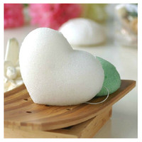 Wholesale Natural Konjac Sponge Konnyaku Facial Cleansing Sponges Puff Body Face Wash Sponge Makeup Remover Pad Exfoliator Random Color