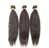 2017 bestselling 12-30 pouces Produits brésiliens droits de cheveux humains 1pcs cheveux humains tisse l'extension de cheveux