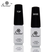 Wholesale Saviland Non cleaning Base and Tpp Coat for UV Gel Polish Top Coat Top it off Nail Lacquer Foundation Nails Glue