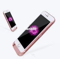 Wholesale The hotest sale power bank back cover MAH external phone wireless battery charger case for iPhone plus S