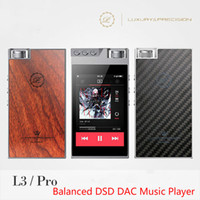 audio precision - Luxury Precision L3 Pro Portable Double DSD DAC USB ECC MLC HIFI Music Lossless Carbon Balanced Audio Music Player MP3