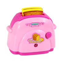 best bread machines - Mini Simulation bread machine toy for kid lovely classic electric furniture toy the best gift for children Pink