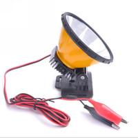 achat en gros de projecteurs 12v hid-12V 30W LED lampe frontale Circuit intégré éclairage diffusé grosse tête tête torche Chasse Camping tête de pêche conduit lumière