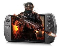 android game console jxd - new style JXD inch quad core game machine ps3psp psv D handheld game console body sense game console