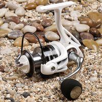 aluminium spool - Fishing Reel BB TR4000 Aluminium alloy spool High Strength Engineering Nylon Spinning Carp Fishing Reelcarretilha pesca