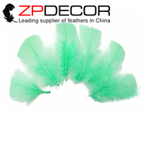 beautiful christmas crafts - ZPDECOR inch cm Beautiful Unique Dyed Lime Green Turkey T Base Plumage Feather For DIY Craft Decoration