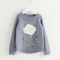 Cheap Pullover girls sweater Best Girl Winter children sweater