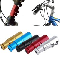 bicycle stem extender - New Arrival Alloy Handlebar Fork Stem Riser Bicycle Rise Up Extender Head Up Adaptor Bicycle Parts