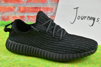 buy discount martial art boots - 2017 Wholesale Discount Cheap Onine Y Boost 350 Sneakers Kanye Milan West Running Shoes for Men Women Fashion Trainers Shoes With Box
