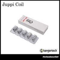 La bobina auténtica de Kangertech JUPPI se diseña para el tanque de JUPPI de Kanger Rewickable La bobina de la estructura de NotchCoil DHL libera
