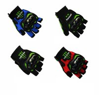 Wholesale Cool Unisex Cycling Gloves Half Finger Anti Slip Bike Gloves Mittens Breathable M XXL Bicycle Gloves