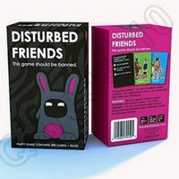 Wholesale DISTURBED FRIENDS This Game Should Be Banned Anti Human Card Gainst Humanity Board Card Game Funny Game OOA1153