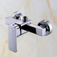bathroom shower materials - Bathroom Shower Faucet shower mixer accessories Shower Faucets Brass material Cold hot water control Modern Brand