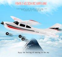Precio de Distancia de vuelo-Original Wltoys F949 2.4G 3 Coreless Motors RC Aeroplano Avión de Larga Distancia Avión de Ala Fija al aire libre Drone Juguetes de Control Remoto