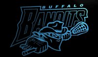 bandit lights - LS885 b Buffalo Bandits NLL Lacrosse Neon Light Sign jpg