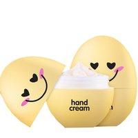 Wholesale Skin Care Organic Hand Cream Lovely Eggs Honey Hand Creams for Dry Skin Lotion Whitening Moisturizing Health Tools Hands Cream