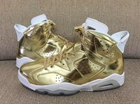 basketball spike - High Quality Retro Metallic Gold Men Basketball Shoes s Gold Spike Lee Athletics Sneakers With Shoes Box