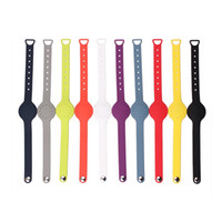 Rubber band misfits - Fashion Wrist Sports Watches Replacement TPU Wrist Band Strap For Misfit shine Bracelet Smart WristBand Straps