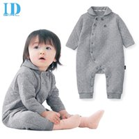 baby shorts trade - IDGIRL New Winter Baby Boy Clothes Warm Long Sleeved Jumpsuit Baby Girl Clothes Romper Climbing Clothes Baby Trade MR054
