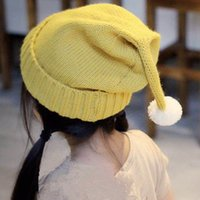 baby boomers - 2016 new style korean and cute edition of bean hat Edge baby boomers knitted cap Christmas hat