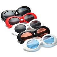 achat en gros de lunettes lunettes de soleil rétro-2017 Vintage NIRVANA Lunettes de soleil Kurt Cobain pour hommes / femmes Lunettes miroir Lunettes de soleil retro féminin / masculin UV400 Goggles