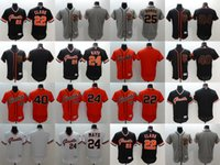 Wholesale Elite Men s San Francisco Giants Clark Buster Posey Madison Bumgarner Willie Mays Stitched Baseball Jerseys