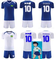 Wholesale Nice N Captain Tsubasa Jerseys fastion ATOM Classic japan Cartoon ATTON Shirts shorts jerseys Asia size Custom name number