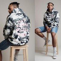 Wholesale Plus Size Fashion AntiSocial Social Club Hoodie Anti Social Social Club Camouflage Hooded Sweatshirts