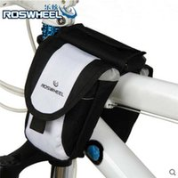 Wholesale PVC Waterproof Outdoor Sports Road Bicycle Bike Cycling Mountain Frame Tube Double Side Bag Panniers Pouch Accessory Big volume