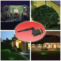 Wholesale New Outdoor Lawn Light Sky Star Laser Spotlight Light Shower Landscape Park Garden Lights Christmas Garden Party Decorations