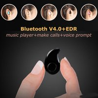 Wholesale Iphone S530 Mini Wireless Small Bluetooth Earphone Stereo Light Stealth Headphone Headset Earbud With Mic Ultra small Hidden With box