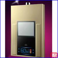 Wholesale 2017 new Gas water heater liter intelligent ultra thin gold gas water heater Daxian nouveau riche