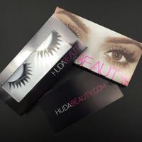Wholesale HD Beauty False Eyelashes styles Messy Cross Thick Natural Fake Eye Lashes Professional Makeup Bigeye Eye Lashes Handmade