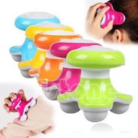 Wholesale Hot Mini USB Battery Full Body Massage Wave Vibrating Electric Handled Massager New