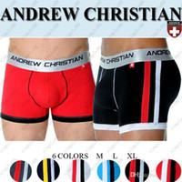 andrew christian - ANDREW CHRISTIAN men s underwear Boxer Shorts Sexy Modal Underpants colors