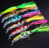 Wholesale Simulation shrimp Prawn lure Freshwater fishing Lure g cm minnow ABS Plastic Squid hard bait JF