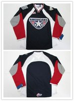 Customize Mens Womens Kids WHL Tri-City Americans 100% Embroidery Custom  Any Name Any No. Hot Sale Ice Hockey Jerseys S-6XL Goalit Cut ... 5f2516e70