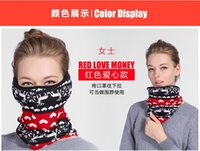 Wholesale Multi function dust mask breathable warm winter cold collar men and women cover mouth riding protective earmuffs neck guard