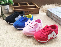 Wholesale Baby Casual Shoes Breathable Mesh Upper Boy Girl Sport Shoes Baby Sneakers Hot Sell Red Black Pink Blue Shoes For Babies