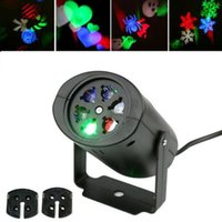 Wholesale LED Moving Snowflake Garden Laser Projector Lamp Light Xmas Party Outdoor Decor