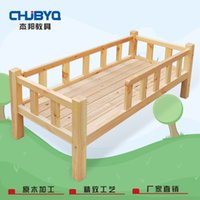 Wholesale Custom engineered wood children bed with guardrail small bed boys and girls children bed children baby s best love safety and peaceful