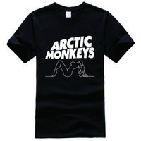 arctic cooling fans - Arctic Monkey Lady Album Music Tour Rock Punk Indie Fan Printed Tee Shirt Unisex Fashion Women Men Short Sleeve Cool Funny Shirt