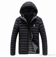 Hooded ad pad - AD brand men s coats winter jacket Best Quality adults hoodies men Outerwear Cotton padded colors size L XL hot sell