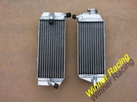Wholesale Left Right Aluminum Radiator For Honda CRF450R water box for motorcycle replacement parts engine cooling accessories