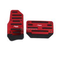 audi accelerator - Brake Accelerator Sport NonSlip Pedal Pad Vehicle Automatic AT Car Red
